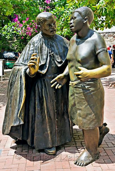 San Pedro Claver and the Slave