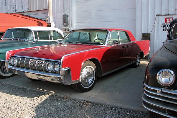 August 12, 2007:  Car lot in Sweet Springs, Missouri .  .  .