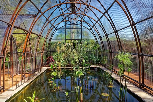 Jardin la Serre des Victorias