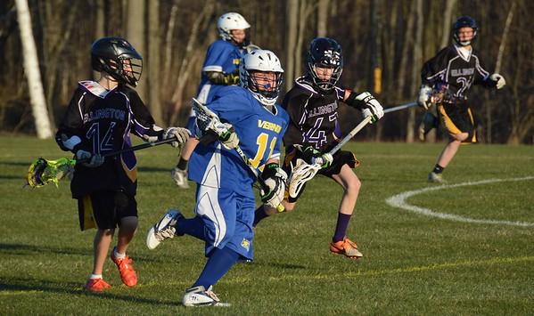Ellington Junior Boys vs. Vernon 041516