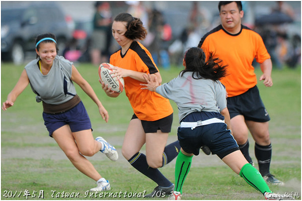 2011台灣國際10s-觸式橄欖球表演(Touch Rugby Demostration)