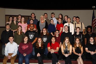 "High School Theatre - 11/30/2016 ""Twelve Angry Jurors"" Dress Rehearsal"