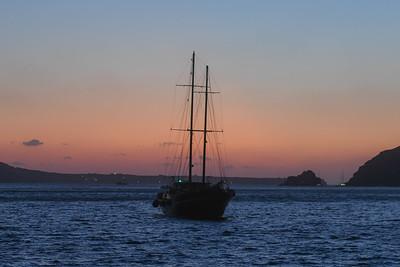 Santorini - Boat Trip