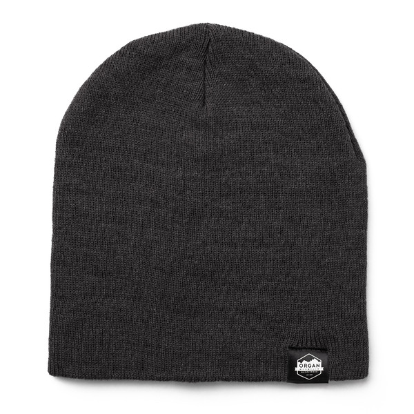 Outdoor Apparel - Organ Mountain Outfitters - Hat - 8 Inch Knit Beanie - Heather Charcoal.jpg