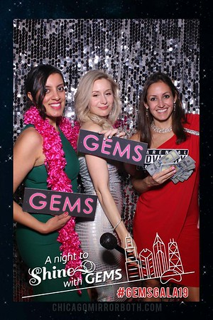Gems Gala 2019 Mirror Booth Photos at Fairmont Hotel