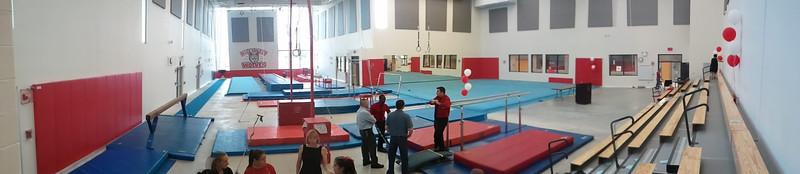 2011.09.02 - Niles West's new gym