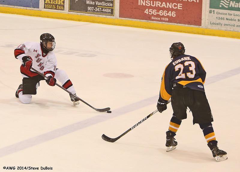 Alaska vs Yukon hockey 3/20