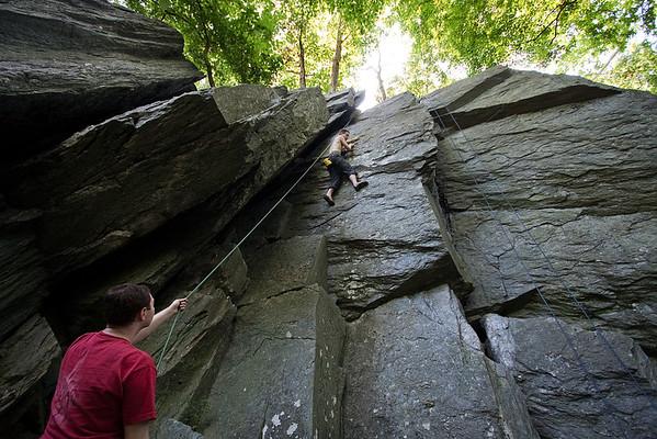 Carderock Climbing - June 2011