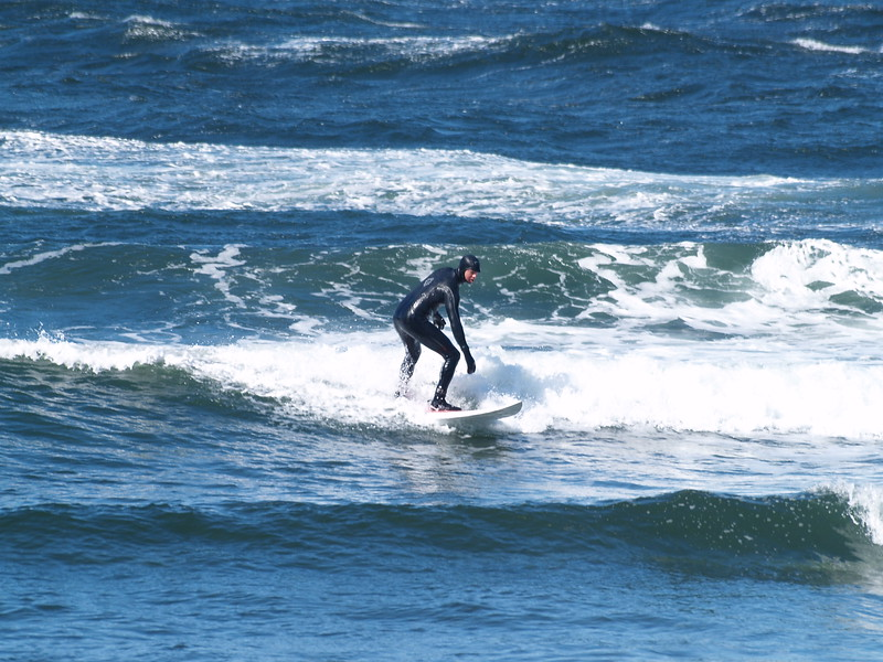 Surfer at the Shrine