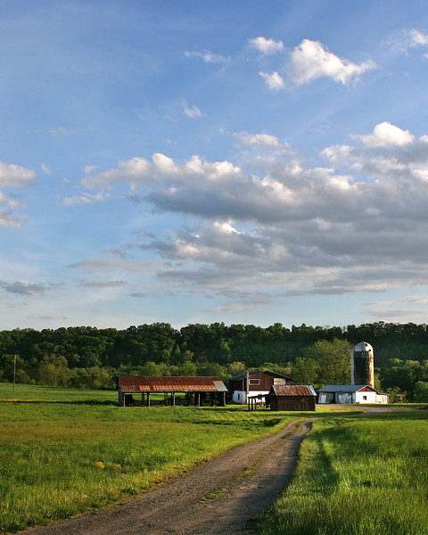 Farm near North Branch along the C&O Canal