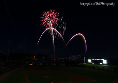 Fireworks at Arvest Ball Park (2017)