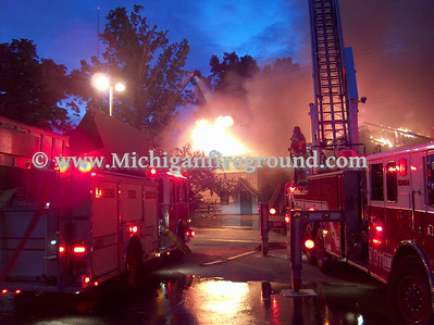 8/30/07- Delhi Twp commercial building fire, 3100 Pine Tree Rd