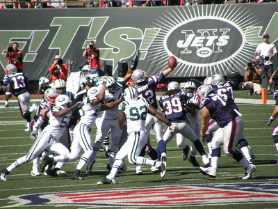 Jets vs. Patriots 9/20/09