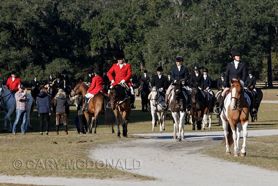 2017 - Middleton Place blessing of the Hounds