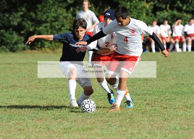 Delmar Varsity Soccer vs Laurel
