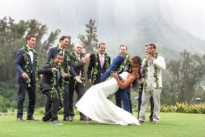 Chris and Kellei's Wedding at Royal Hawaiian Golf Course