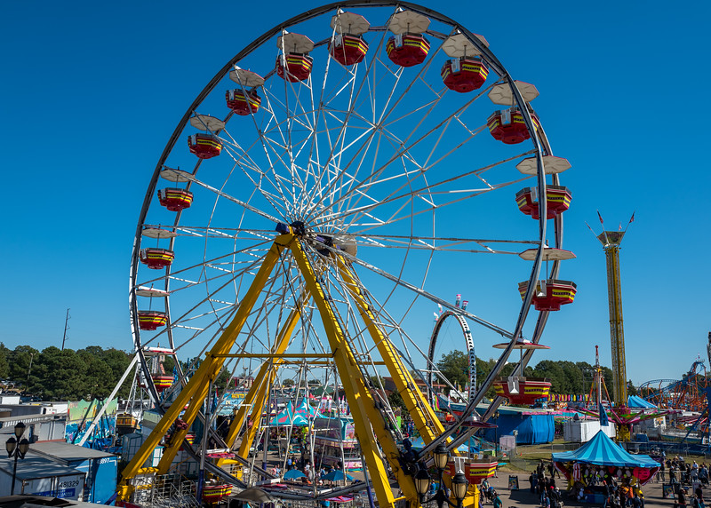 Ferris wheel at NC State Fair 2016