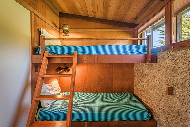 Two Separate Bunk Rooms