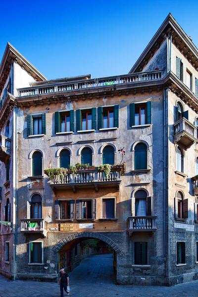 Venetian house, Santa Polo sestiere, Venice, Italy