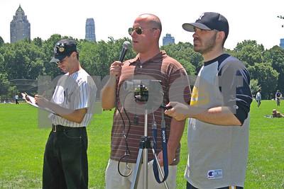 7/14/2007 - Bleacher Creature Softball Challenge - Legion of Doom vs. MFer's IV - Central Park, New York, NY