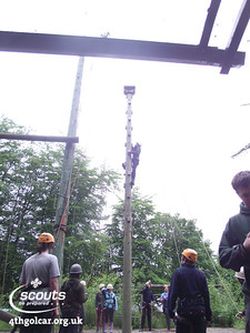 June - Group Camp High Ropes