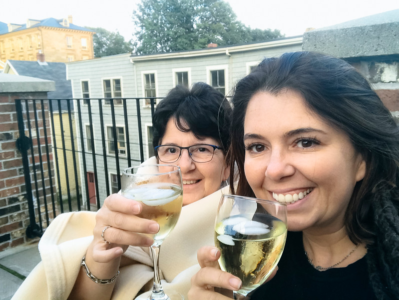 pei the great george condos patio wine with carmie.jpg