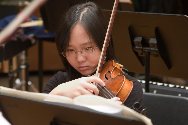 Laura Tsang, violin -- Hopkins Symphony Orchestra, March 2008