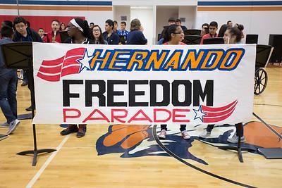 Spc. Rafael Hernando III Middle Freedom Parade