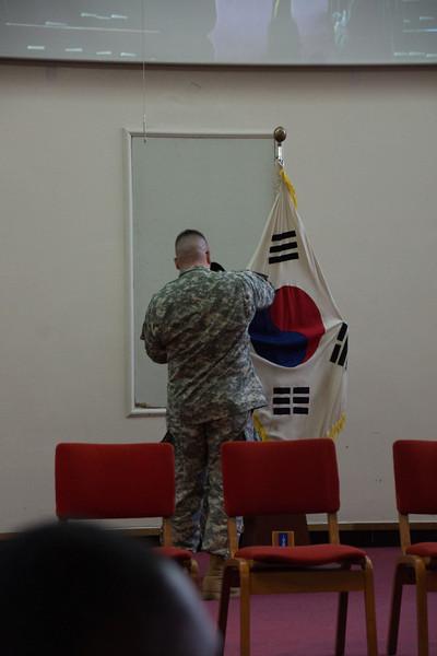 Mr. Kim's Memorial Ceremony