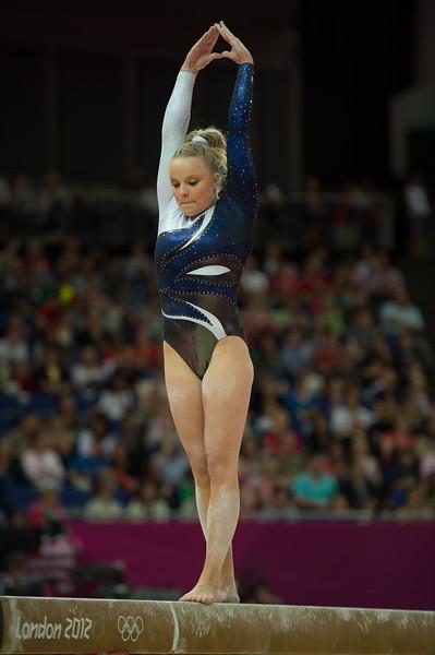 Annika Urvikko at London olympics 2012__29.07.2012_London Olympics_Photographer: Christian Valtanen_London_Olympics_Annika Urvikko at London olympics 2012_29.07.2012__ND49824_Annika Urvikko, finnish athlete, gymnastics