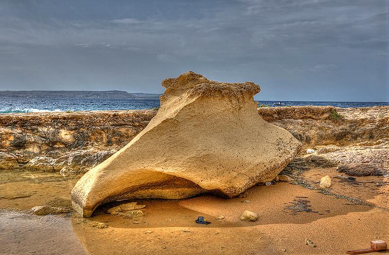 Rock Sculpture Gozo