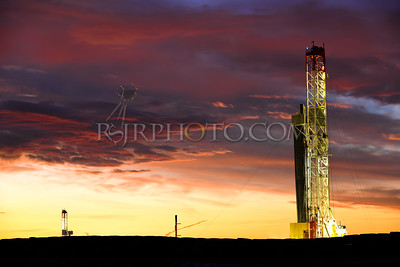 XL Oil Field (for larger prints)
