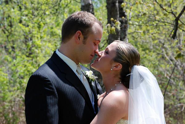Alishia & Aaron, May  12, 2007