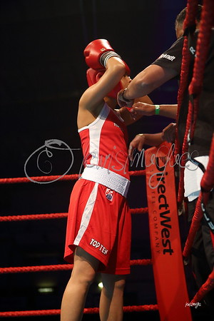 Taveena Kum (Can) vs. Virginia Fuchs (USA)