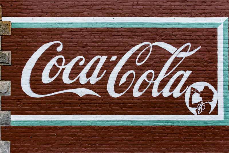 GA, Grantville - Coca-Cola Wall Sign 02