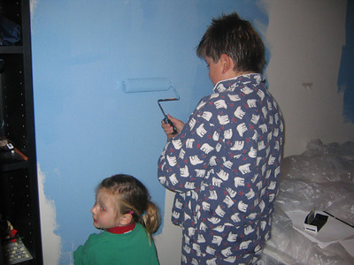 Painting Max's Room
