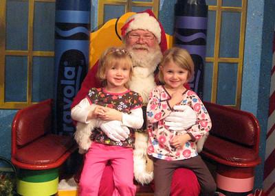 Visit to see Santa 2009
