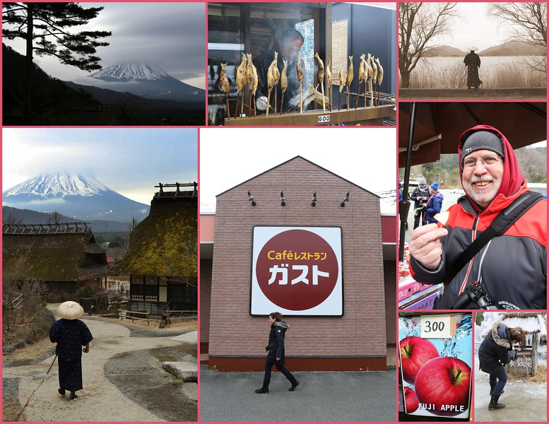 Day 3, Jan 7 Tues.: Mt. Fuji - Iconic Fuji Landscapes & Shinto Temples