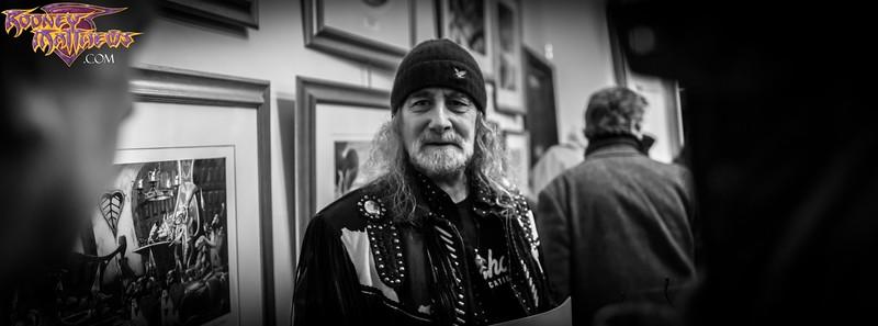 Rodney Matthews IONAWR Exhibition