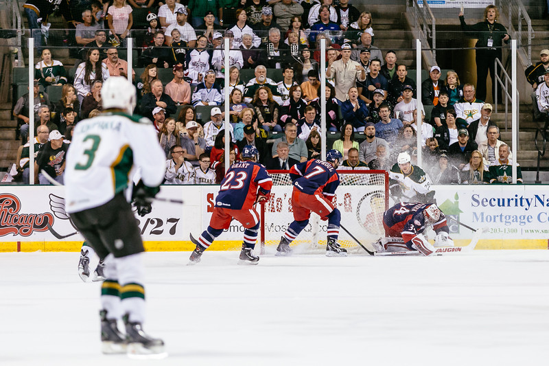 Texas Stars vs Grand Rapids Griffins at Cedar Park Center - May 10, 2014 - Stars win 4-0