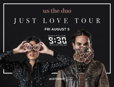2016.08.23 | Us The Duo Returns To DC Showing Us Just Love