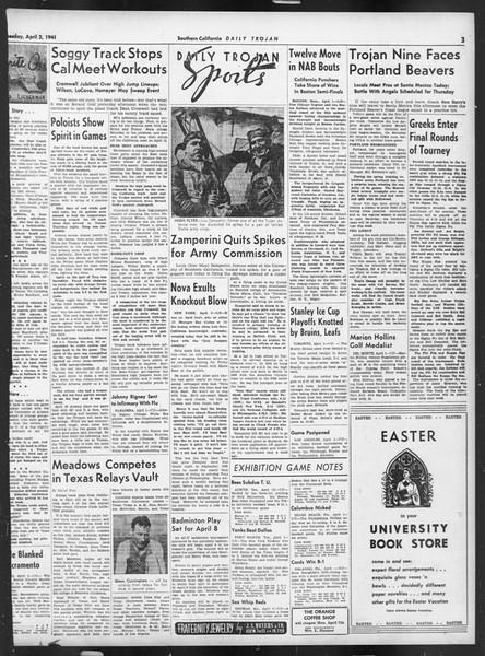 Daily Trojan, Vol. 32, No. 114, April 02, 1941