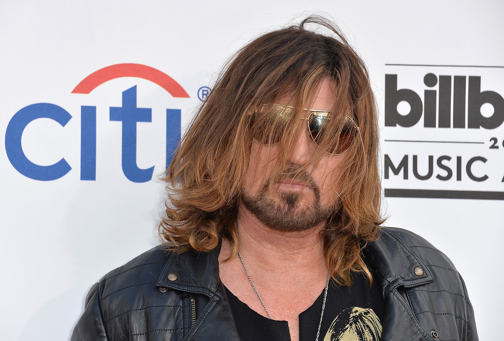 . Singer Billy Ray Cyrus attends the 2014 Billboard Music Awards at the MGM Grand Garden Arena on May 18, 2014 in Las Vegas, Nevada.  (Photo by Frazer Harrison/Getty Images)