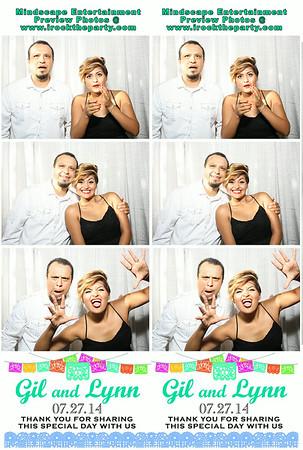Gil & Lynn Garcia Wedding - Photo Booth Pictures