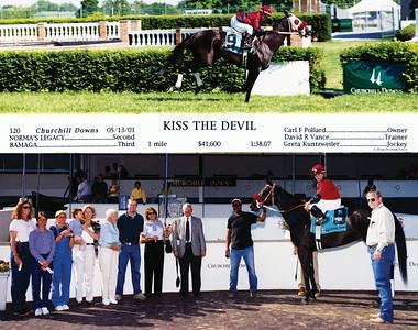 KISS THE DEVIL - 5/13/2001