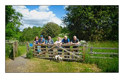 135  - Bellingham To Hareshaw Linn Walk, Northumberland, UK - 2021.