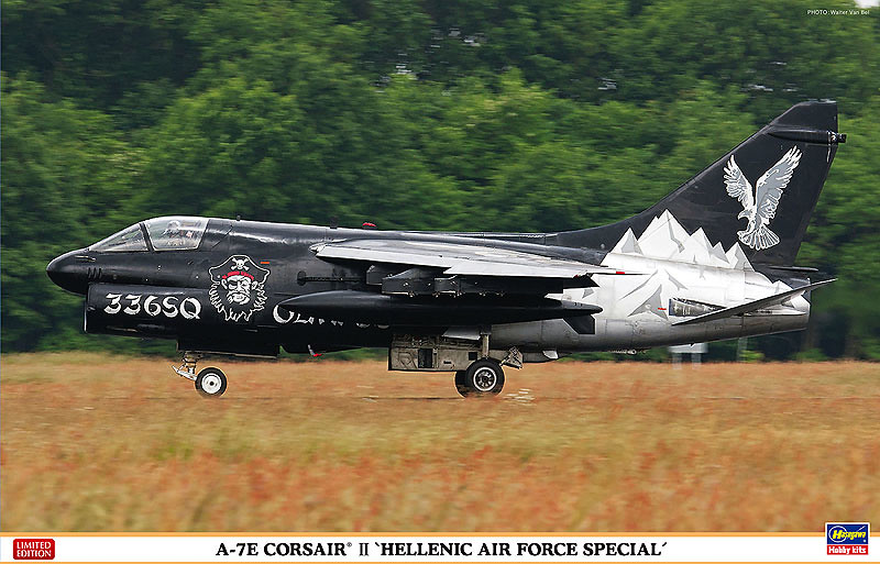 "My shot, used for the ""box art"" of the Limited Edition 1/48 scale A-7E Corsair II."