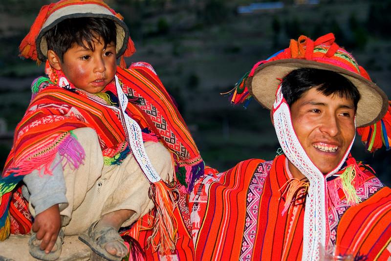 villagers of huilloc