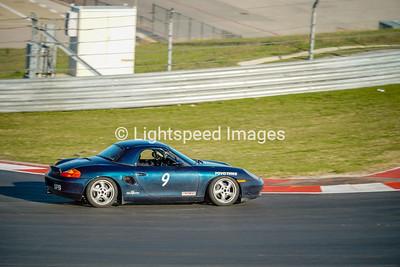 #9 Blue Porsche Boxter