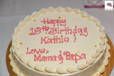 Kathie's 18th Birthday